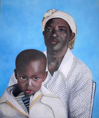 born2paint, Schwarze Madona, Miscellaneous People, Contemporary Art