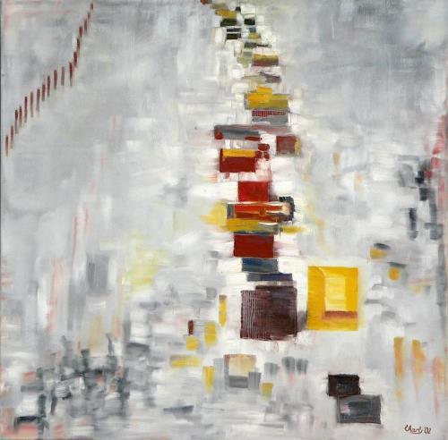 born2paint, Rushhour, Abstract art