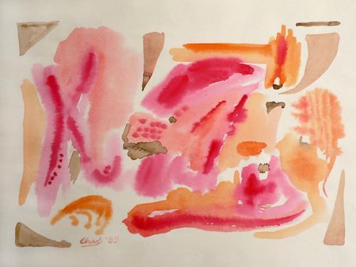 born2paint, Aquarellstudie, Abstract art