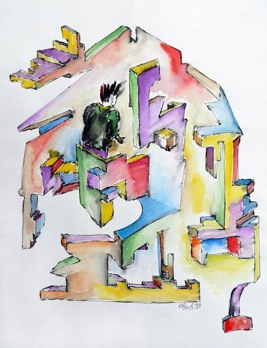 born2paint, Der Hausbesetzer, Abstract art