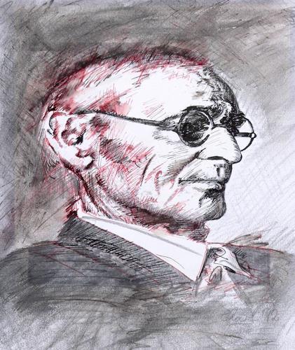 born2paint, Hermann Hesse, People: Portraits