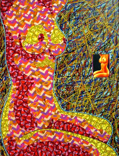 Dmitry Filov, Born without panties, Carnival, Fantasy, Neo-Expressionism, Expressionism