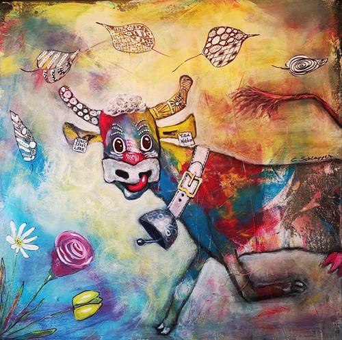 Cäcilia Schlapper, Sissy (auf Wanderschaft), Animals: Land, Fantasy, Art Déco, Expressionism