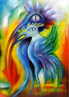Lydia-Harmata-Fantasy-Animals-Air-Modern-Age-Others-New-Figurative-Art