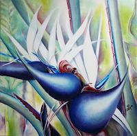 Gudrun--G.-Nold-Plants-Palm-Nature-Contemporary-Art-Contemporary-Art
