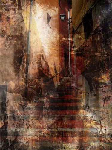 Bianka Schüssler, Follow me, Abstract art, Abstract Art, Expressionism