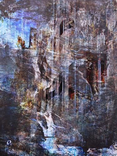 Bianka Schüssler, Ready for the blues, Miscellaneous, Abstract Art