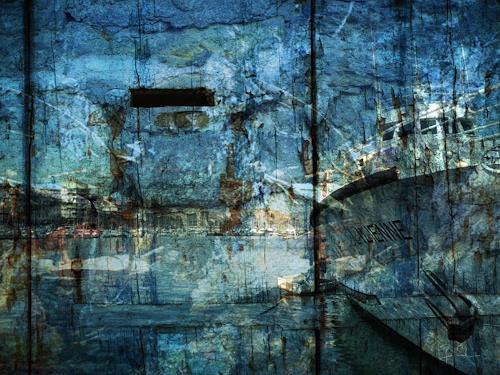 Bianka Schüssler, Behind the scenes, Abstract art, Abstract Art
