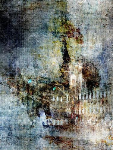 Bianka Schüssler, By night, Abstract art, Abstract Art