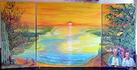 Frank-Ziese-Poetry-Landscapes-Sea-Ocean-Modern-Age-Impressionism