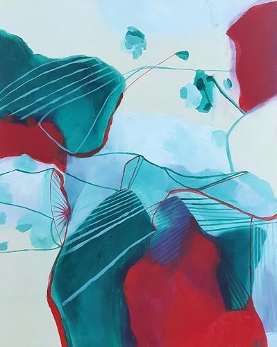 Sebastian Burckhardt, Treffen bei Jerusalem, Abstract art, Fantasy, Contemporary Art