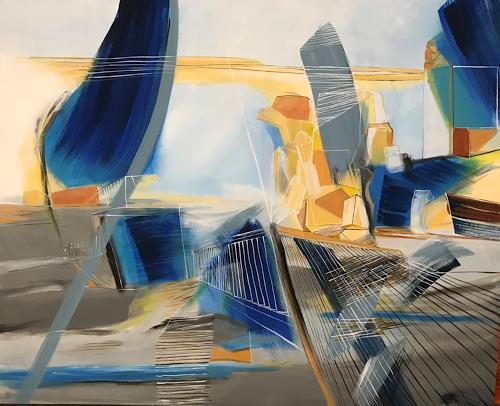 Sebastian Burckhardt, Stadtlandschaft, Miscellaneous Landscapes, Non-Objectivism [Informel], Abstract Expressionism