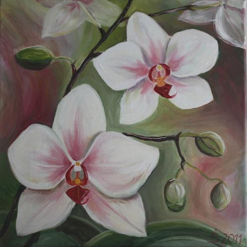 Anett Struensee, Orchidee, Plants: Trees, Naturalism