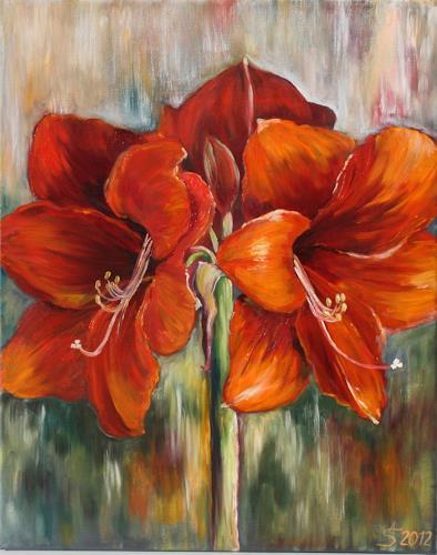 Anett Struensee, Amaryllis, Plants: Flowers, Naturalism
