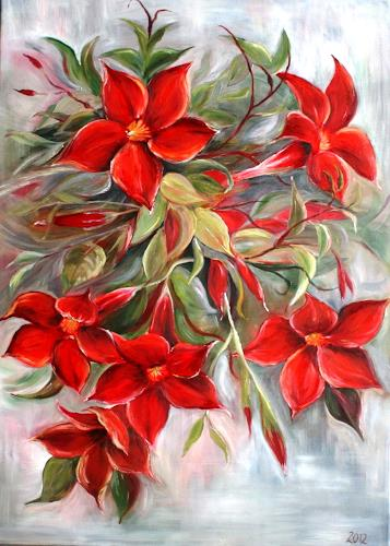 Anett Struensee, Dipladenia, Plants: Flowers, Naturalism