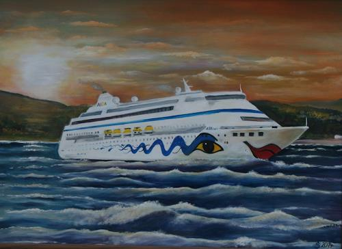 Anett Struensee, Aida, Landscapes: Sea/Ocean, Naturalism