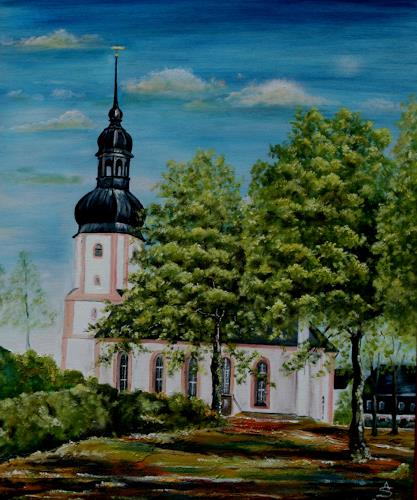 Anett Struensee, Johanniskirche Rußdorf, Buildings: Churches, Architecture, Naturalism