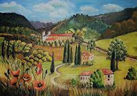 Anett-Struensee-Landscapes-Landscapes-Summer-Modern-Age-Naturalism