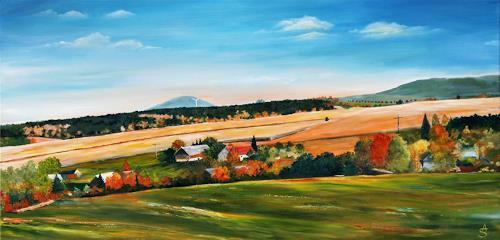 Anett Struensee, Beerwalde, Landscapes: Autumn, Plants: Trees, Naturalism