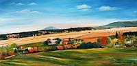 Anett-Struensee-Landscapes-Autumn-Plants-Trees-Modern-Age-Naturalism