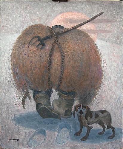 Evgeniy Shibanov, Hay and Straw, Abstract art