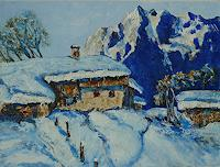 Rainer-Jaeckel-Landscapes-Winter-Landscapes-Mountains-Contemporary-Art-Contemporary-Art