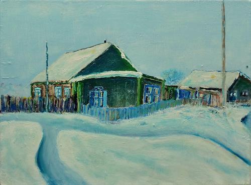 Rainer Jäckel, Russian Winter, Landscapes: Winter, Nature: Miscellaneous, Naturalism
