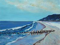 Rainer-Jaeckel-Landscapes-Sea-Ocean-Landscapes-Beaches-Modern-Age-Expressive-Realism