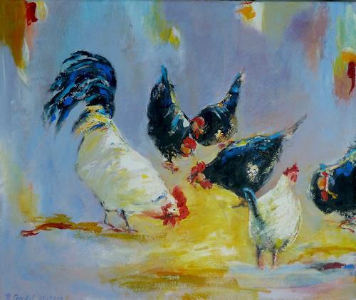 Rainer Jäckel, Pick, Animals: Land, Emotions: Safety, Neo-Expressionism, Expressionism