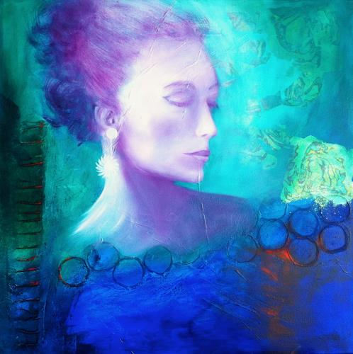 Sylva Kanderal, Vor dem grossen Auftritt, People: Faces, Expressionism