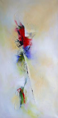 Sylva Kanderal, Mohnblume, Abstract art