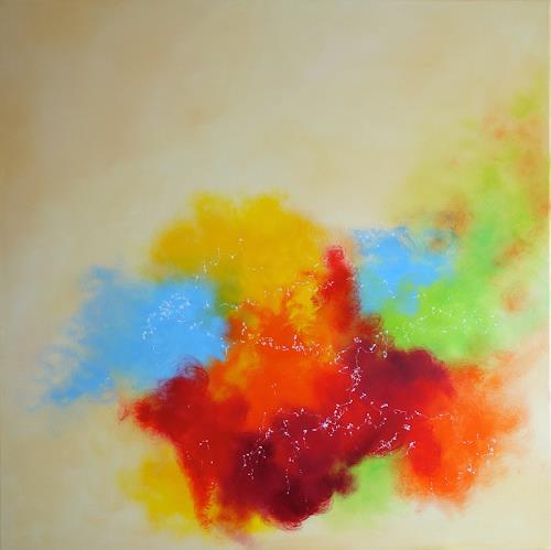 Sylva Kanderal, Summer Wine, Fantasy, Abstract Art