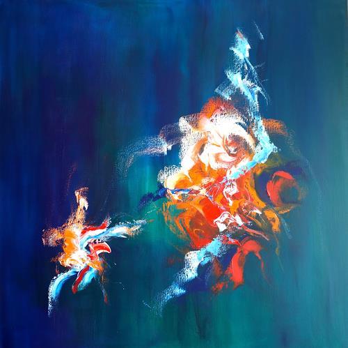 Sylva Kanderal, La Felicidade, Abstract art, Abstract Art