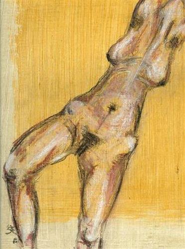 Imke Kreiser, Torso, Erotic motifs: Female nudes, Contemporary Art