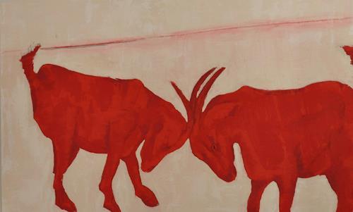 Imke Kreiser, Goates, Animals: Land, Contemporary Art