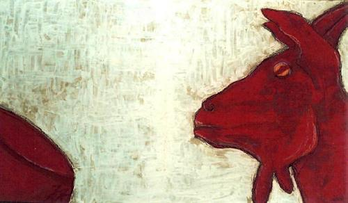 Imke Kreiser, Goat, Animals: Land, Contemporary Art