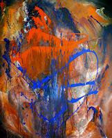 G.J.B-Abstract-art-Miscellaneous-Modern-Age-Abstract-Art-Action-Painting
