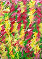 Hanni-Smigaj-Plants-Flowers-Modern-Age-Expressionism-Abstract-Expressionism