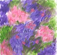 Hanni-Smigaj-Plants-Flowers-Abstract-art-Modern-Age-Expressionism-Abstract-Expressionism