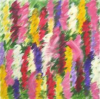 Hanni-Smigaj-Plants-Flowers-Abstract-art-Modern-Age-Expressionism-Abstract-Expressionism