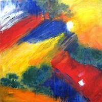 Hanni-Smigaj-Abstract-art-Mythology-Modern-Age-Expressionism