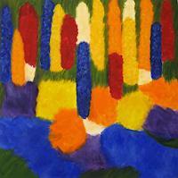 Hanni-Smigaj-Abstract-art-Plants-Flowers-Modern-Age-Expressionism