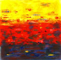 Hanni-Smigaj-Abstract-art-Landscapes-Summer-Modern-Age-Abstract-Art