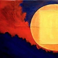 Hanni-Smigaj-Abstract-art-Romantic-motifs-Sunrise-Modern-Age-Expressionism