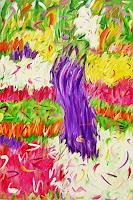 Hanni-Smigaj-Nature-Plants-Flowers-Modern-Age-Expressionism-Abstract-Expressionism