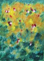 Hanni-Smigaj-Abstract-art-Plants-Flowers-Modern-Age-Abstract-Art-Non-Objectivism--Informel-