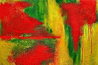 Hanni-Smigaj-Abstract-art-Landscapes-Summer-Modern-Age-Abstract-Art-Non-Objectivism--Informel-