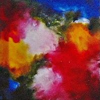 Hanni-Smigaj-Plants-Flowers-Abstract-art-Modern-Age-Expressionism