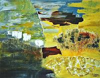 Hanni-Smigaj-Landscapes-Nature-Rock-Modern-Age-Abstract-Art-Non-Objectivism--Informel-