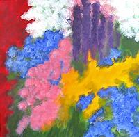Hanni-Smigaj-Plants-Flowers-Plants-Modern-Age-Expressionism-Abstract-Expressionism